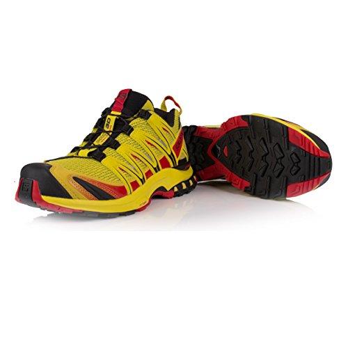 Salomon XA Pro 3D, Chaussures de Randonnée Homme Sulphur SP / Citronelle / Black