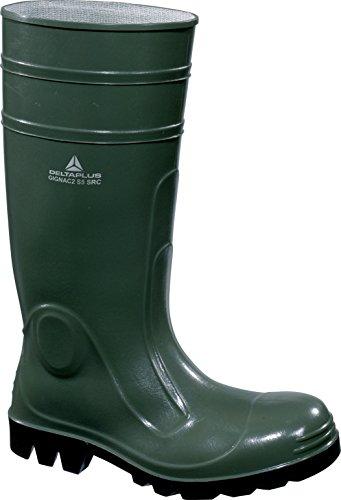 Delta plus botas - Bota seguridad gignac pvc plantilla acero verde talla 43