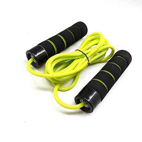 Springseil ohne Kabelsalat mit Kugellagern Verstellbare Sport-Springseile für Männer, Frauen und Kinder Ideal für das Fitnesstraining Boxen Ausdauertraining