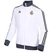 2013-14 Real Madrid Adidas Core Track Top (White)
