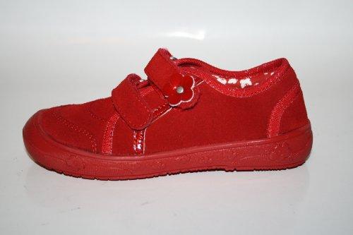 Richter Kinderschuhe , Chaussures de ville à lacets pour fille Rouge Rouge Rouge - Rot (fire 4110)