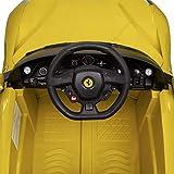 Kinderfahrzeuge Kinder-Elektroauto Ferrari F12 Gelb 6 V Mit Fernbedienung Elektrofahrzeuge Vergleich