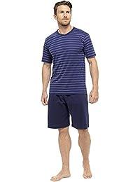 Hommes/Gentlemens Pyjama/Pyjama à Rayures T-Shirt Manche Courte & Short Set Pyjama, Diverses Couleurs & Tailles