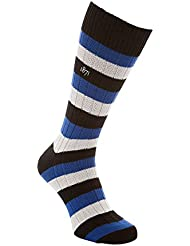 Black & Blue 1871 - Calcetines clásicos modelo Addison Weekender para hombre