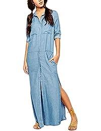 geschickte Herstellung größter Rabatt großer Diskontverkauf Suchergebnis auf Amazon.de für: Jeanskleid Lang - Kleider ...