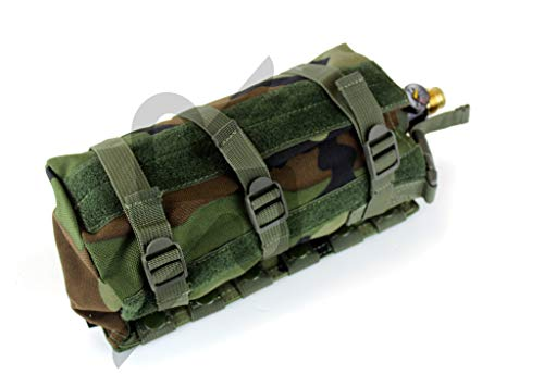 MOLLE Horizontal Universal Paintball Airsoft Air Tank Pouch