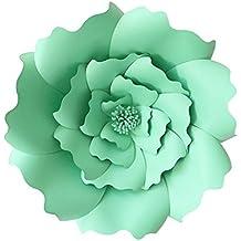 KOBWA Flores de Papel Grandes, DIY artesanías Papel Flores Decoraciones para Pared, Boda/