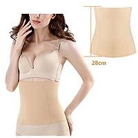 Women's Seamless Postpartum Belly Band Wrap Underwear, C-section Recovery Belt Binder Slimming Shapewear (M/L)