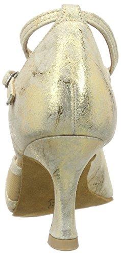 Diamant Latein 020-087-017 Damen Tanzschuhe - Standard & Latein Gold (Gold Magic)