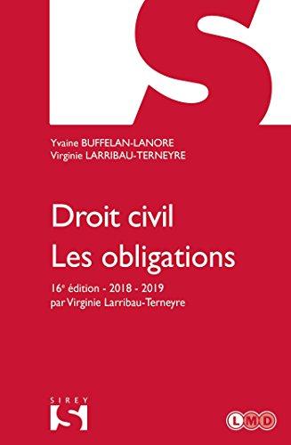 Droit civil. Les obligations - 16e éd.