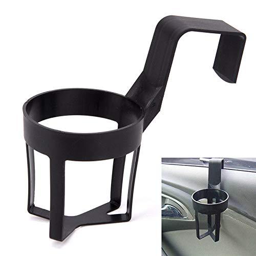 DIYEUWORLDL Portable Universal Car Bottle Holder In Car Drinks Cup Bottle Can Holder Door Mount Cup Holder Stand About 140 * 60 * 85mm -