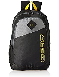 Gear 20 Ltrs Black Casual Backpack (MDBKPECO50104)