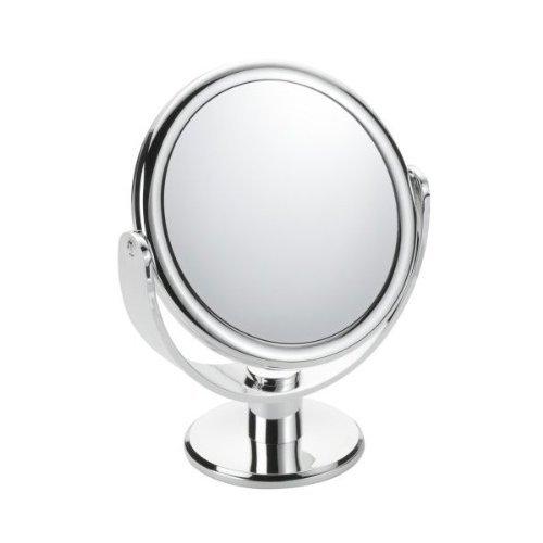 Chrome Vanity (8X & 3X Double Vanity Chrome Magnifying Mirror by 8X & 3X Double Vanity Chrome Magnifying Mirror)