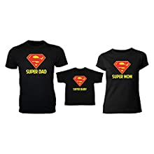 b05c983b Super Hero Mom Dad Child Family T shirt Matching Family T-shirts for Mom,