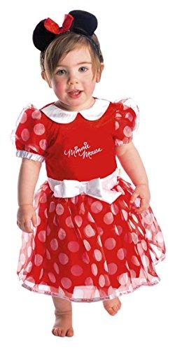 Disney Baby DCMIN-DRR-06 - Kostüm - Minnie Maus Kleid mit Stirnband, rot