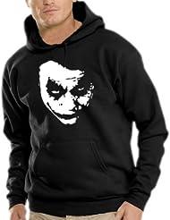 Touchlines Herren Heath Ledger - JOKER Kapuzen Sweatshirt B7138