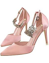 Moquite 2019 Moda Sexy Zapatos Mujer Zapatos De Tacón Mujer Primavera  Verano Sandalias Fiesta High Heels De Tacón Alto Sandalias De… f606c8d4dbea