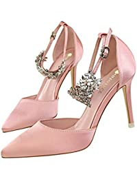 Moquite 2019 Moda Sexy Zapatos Mujer Zapatos De Tacón Mujer Primavera Verano  Sandalias Fiesta High Heels 61f3be29303d