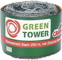 FS Stacheldraht Stahl 1.7 mm 500 M von FS