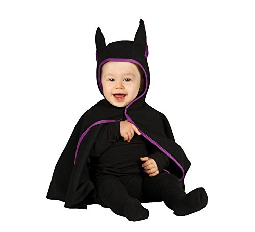 Baby Fledermaus Kostüm schwarz/lila (6-12 M)