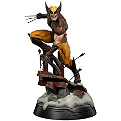 "GYH Marvel X-Men Dowin Wolverine Figura 1/6 Escala Logan PVC Toy 10""26cm (#)''"