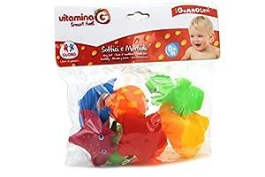 Globo Toys Globo - 5089 Vitamina_G Gommolosi Vinilo Mar Animales Juguete (8 Piezas)