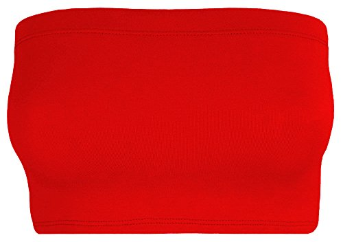 The Celebrity Fashion - Canotta -  donna Red - Breathable Yoga Sport Bandeau