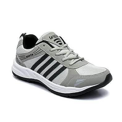 ASIAN Wonder-13 Grey Black Running Shoes for Men