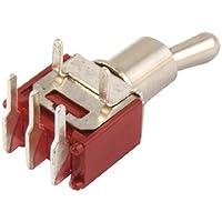 sourcingmap® Mini interruttore 2 posizioni 5 poli On/On SPDT AC