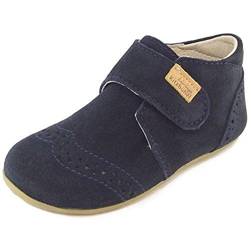 Living kitzbühel 1913 1913 enfants chaussons cuir bleu foncé (nachtblau)