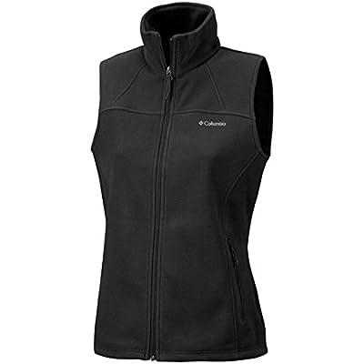 Columbia Fleeceweste mit durchgehendem Reißverschluss für Damen, Fast Trek Fleece Vest, Polyester Microfleece von Columbia Sportswear - Outdoor Shop