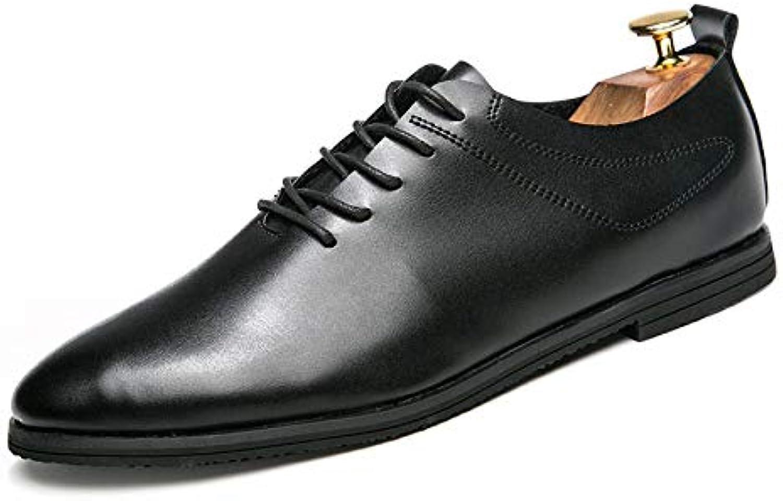 LYZGF Uomini Gioventù Stagioni Affari Casual Moda Punta Allacciatura Scarpe di Cuoio | Miglior Prezzo  | Uomo/Donna Scarpa