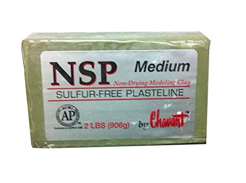 chavant-nsp-non-drying-sulphur-free-sculpting-clay-2lb-900g-bar-grey-medium