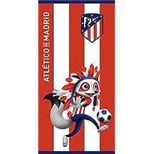 Atlético de Madrid. Toalla de Terciopelo Oficial del Club. 152x76cm.