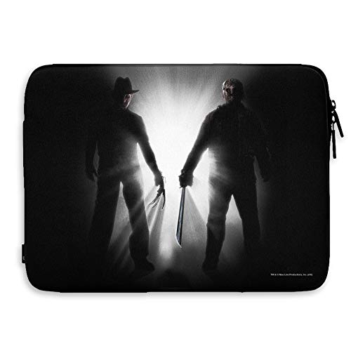 "A Nightmare On Elm Street Oficialmente Licenciado Freddy vs Jason Laptop Case/Funda para Ordenadores portátiles (13"" Inch)"