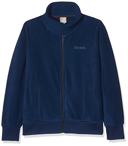 Navy Blue Jacke Fleece (Bench Jungen Trainingsjacke Core Funnel Fleece, Blau (Navy Blue Bl063), 176 (Herstellergröße:15-16))