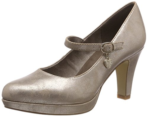 s.Oliver Damen 24400-31 Pumps, Gold (Rose Metallic 519), 40 EU