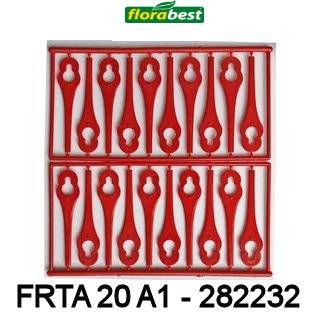 Plaquettes de coupe pour coupe bordure Florabest FRTA 20 A1