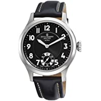 Revue Thommen Men's 16061.3537 Air speed Mens Black Face Mechanical Watch Watch