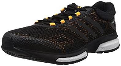 adidas Response Boost, Chaussures de running homme - Noir (Black 1/Black 1/Running White), 40 EU