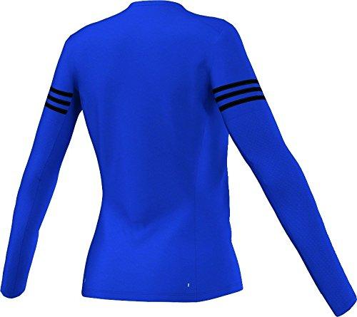 Adidas performance funktionslangarmshirt aA0654 Bleu - Bleu