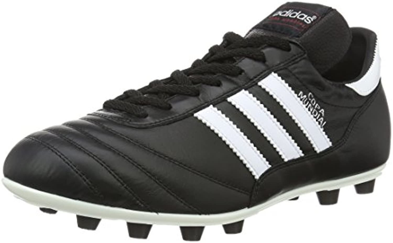 adidas Performance - Zapatillas de fútbol unisex, color black/running, talla 9.5