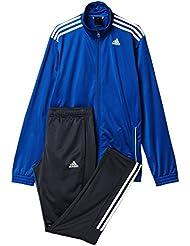 adidas TS Entry - Chándal para hombre, color azul / gris / blanco, talla 180