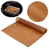 omufipw Ungebleichtes Pergamentpapier Backen Non Stick Pergament Küche Kochen Papier Backen Keks Wachspapierblätter genau passend zum Backen