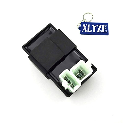 XLYZE 6 Pin AC CDI Ignition Box for 150cc 200cc 250cc Chinese ATV Quad Go Kart Buggy and 50cc 70cc 90cc 110cc 125cc 140cc 160cc XNUMXcc Dirt Pit Bike