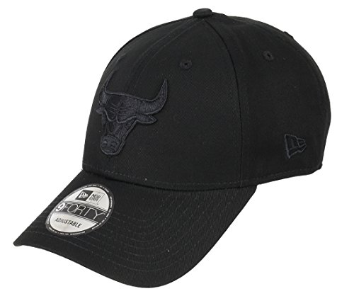 New Era NBA BOB 9Forty Adjustables CHICAGO BULLS Schwarz Schwarz