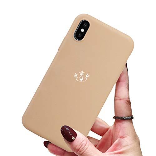 CXvwons iPhone XR hülle, Schutzhülle iPhone XS [Kaiserkrone fashion Chic] Schmales Gehäuse [Anti-Fleck] [Kratzfest] TPU Bumper Case Cover Tasche hülle für Apple iPhone XS MAX