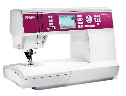 PFAFF Ambition 1.0 Machine à Coudre électronique à Bras Libre, 136 Points