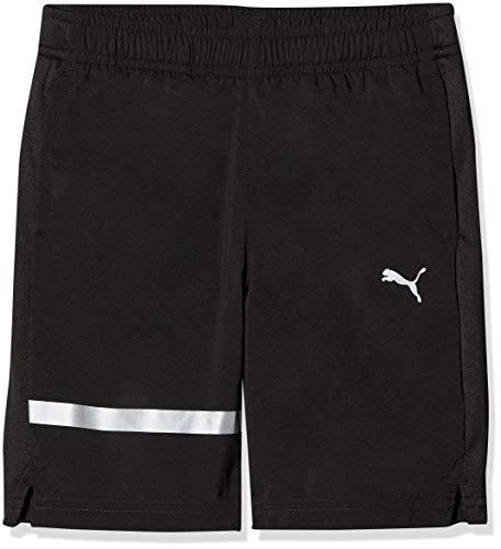 PUMA Jungen Gym Easy Woven Shorts, Black, 140 - Jungen Gym Short
