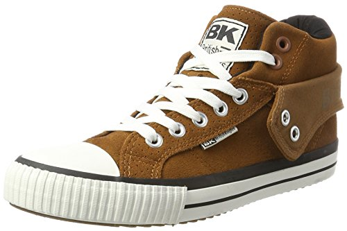 British Knights Herren ROCO Hohe Sneaker, Braun (Cognac), 46 EU (Casual Schuhe Braun)